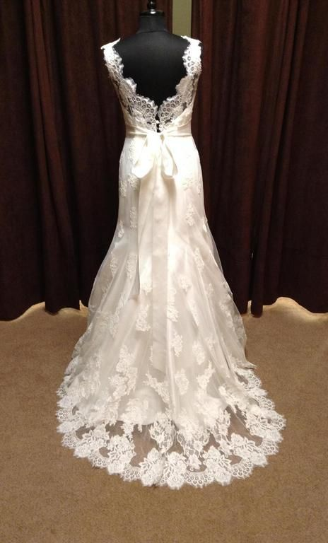8b8a2e35cb9 ... essense of australia d1367 this dress for a fraction of the salon price  on preownedweddingdresses com · looking to wear a designer gown on your  wedding ...