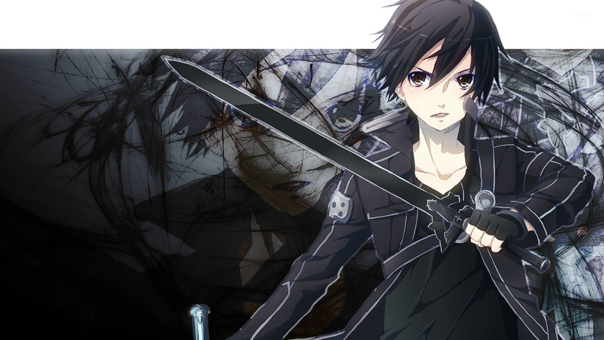 Kirito and Asuna Sword Art Online wallpaper Anime
