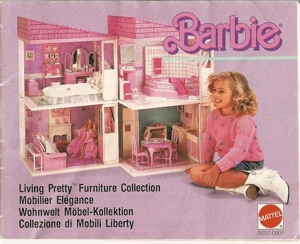 Mobili Barbie ~ Cameretta serie principessa mobili per mini bambole dolls house