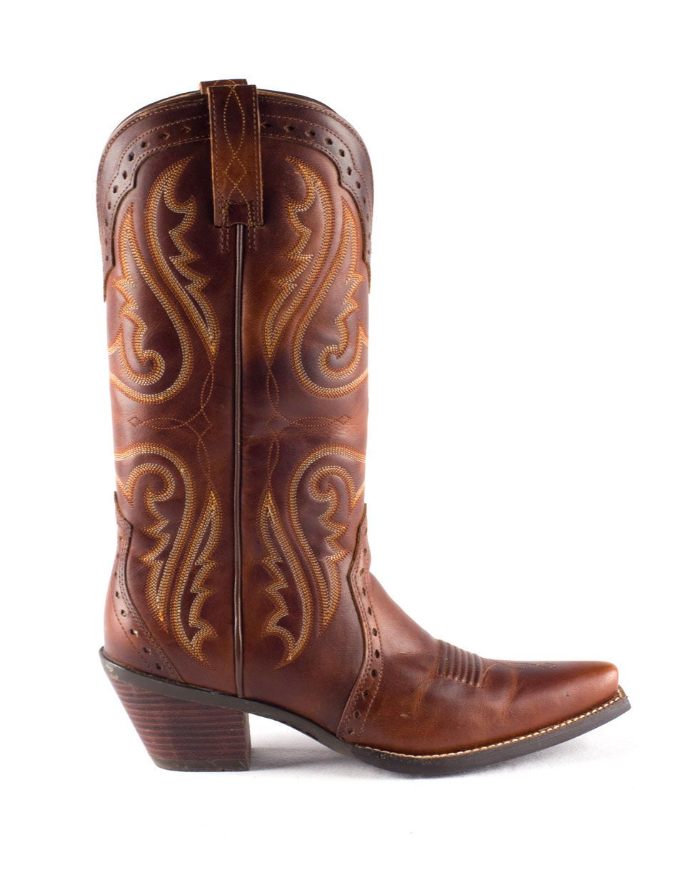 cd56162a269 Ariat Women's Heritage Western X Toe Boot - Vintage Caramel $169.95 ...