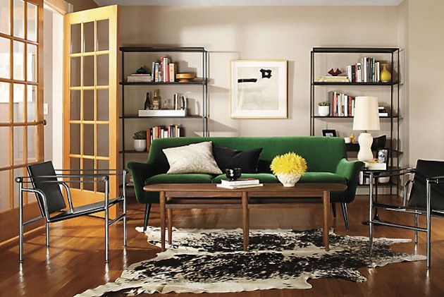 10 Sofa Design Styles To Add Character To Your Home   Http://freshome · Green  Velvet SofaGreen SofaLiving Room ...