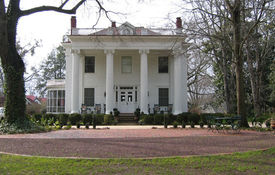 Beautiful Bed And Breakfast In Madison Ga Greek Revival Home