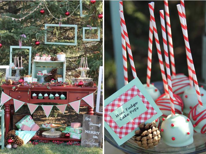 Fun Christmas Theme Party Ideas Part - 21: Mint Themed Holiday Christmas Party Via Karau0027s Party Ideas  Www.KarasPartyIdeas.com