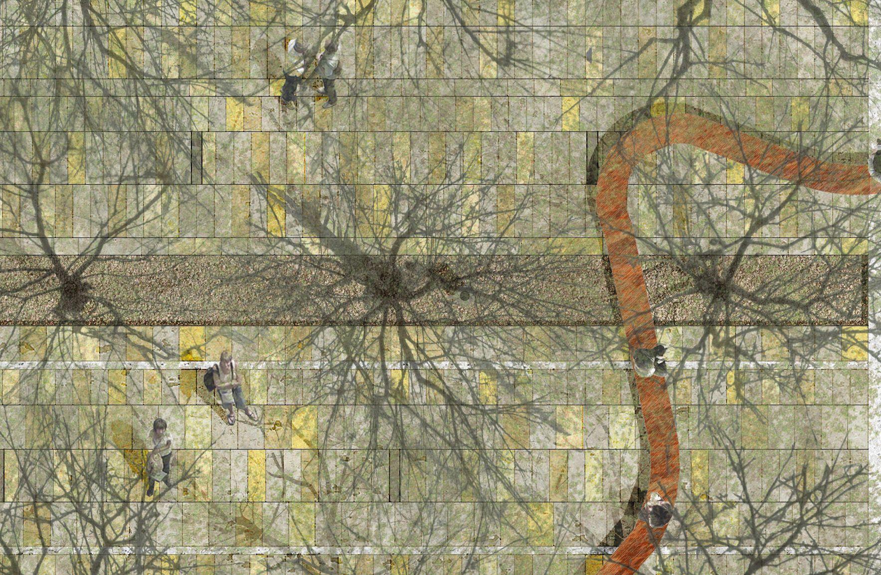 OSA architettura e paesaggio|Kennedy Square, Ravenna|Plan
