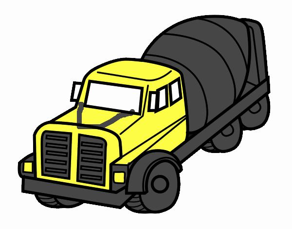Camion Hormigonera Camion Hormigonera Camion Dibujo Camion Monstruo
