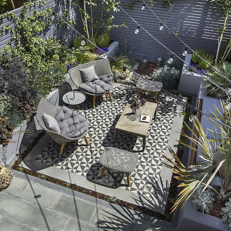 Private Small Garden Design Garden design ideas Pinterest