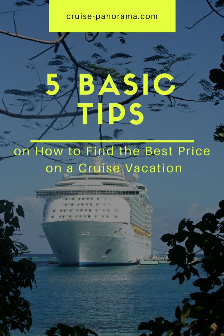how to get the best price for a cruise