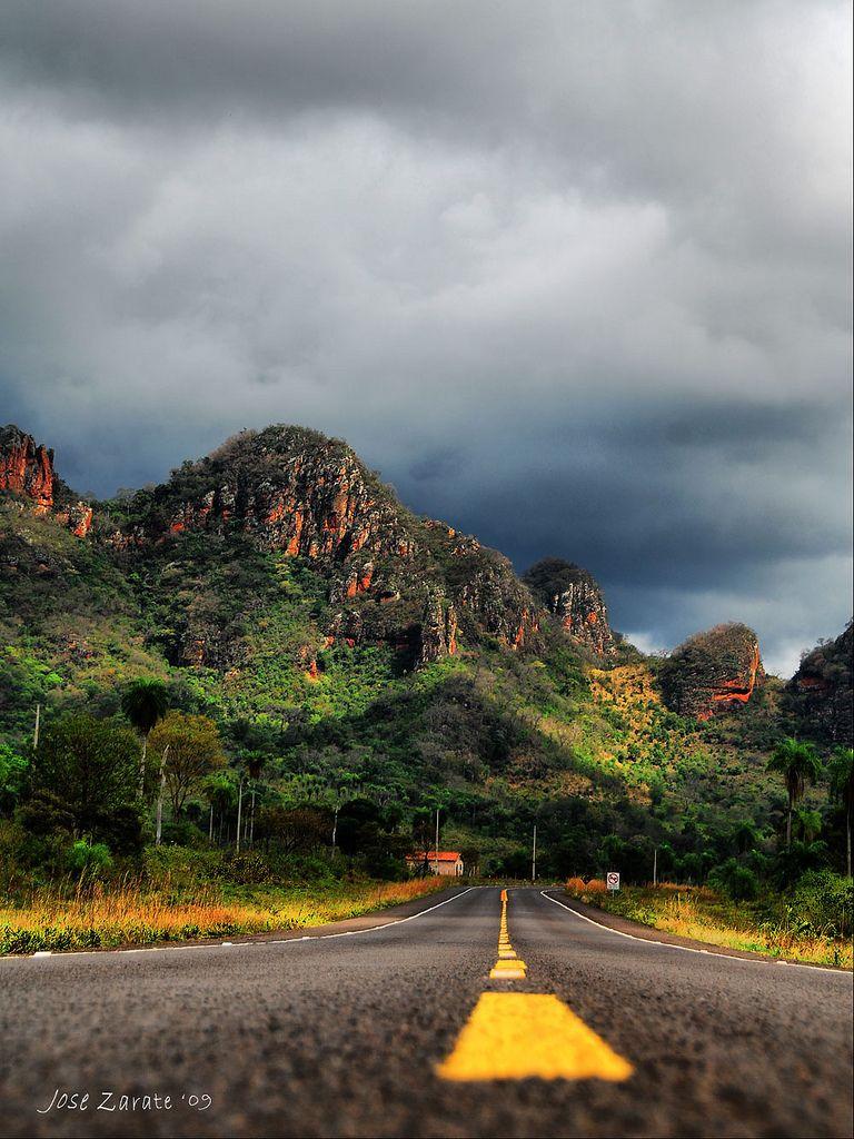 Camino a Cerro Cora, Paraguay Foto de: José Zarate