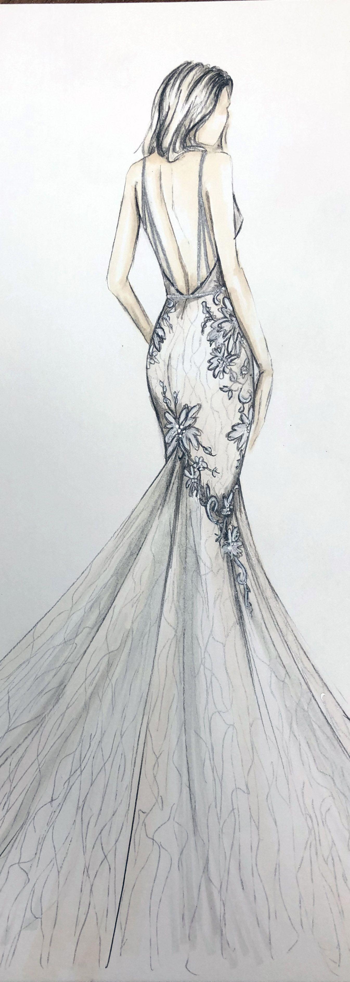 Berta 2020 Collection Fashion Illustration Dresses Fashion Drawing Dresses Dress Design Sketches