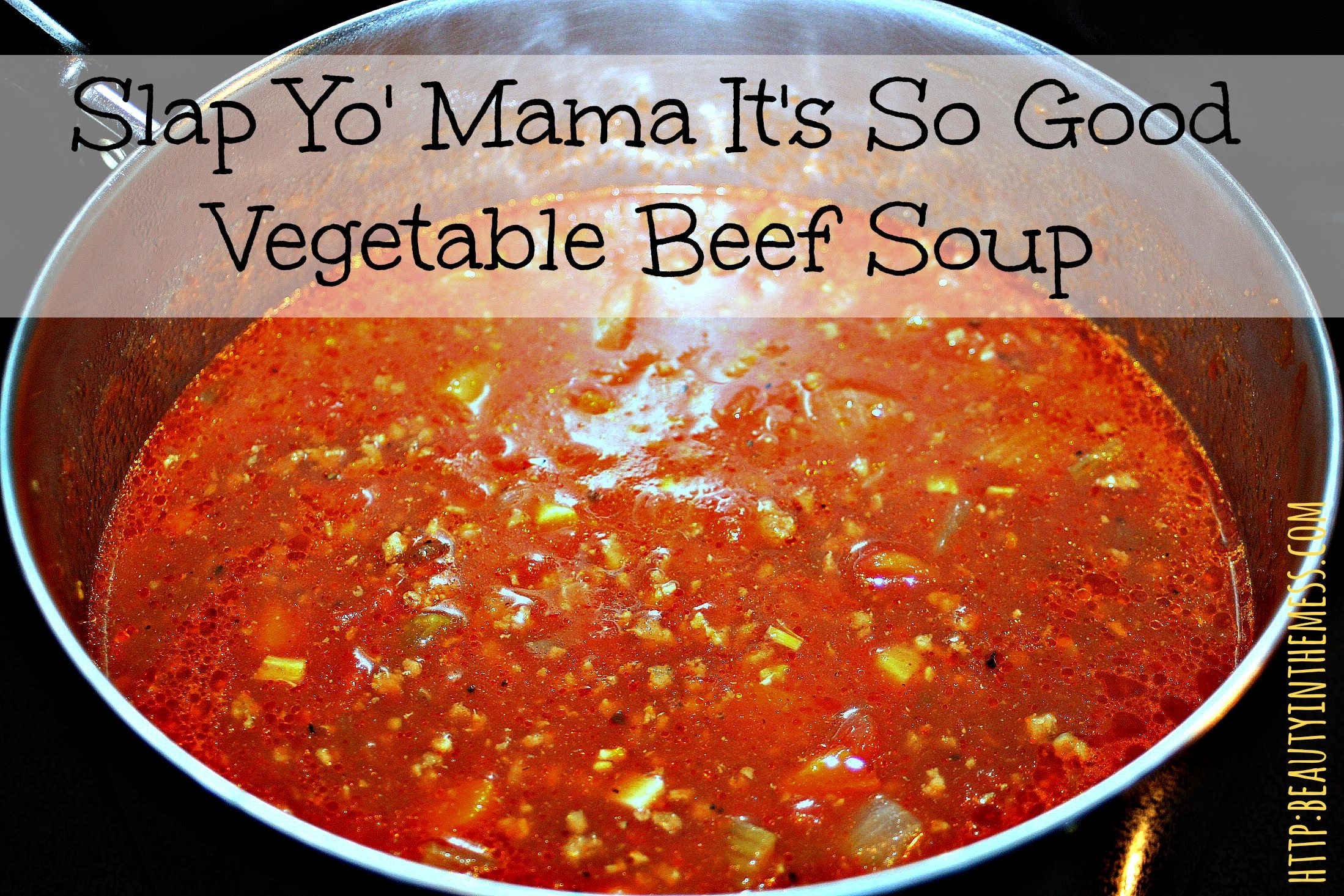 friends this is the best vegetable beef soup you will ever make i ve ...