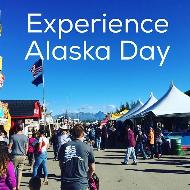 It is Day #4 at the Fair and it is Experience Alaska Day! #Alaska…