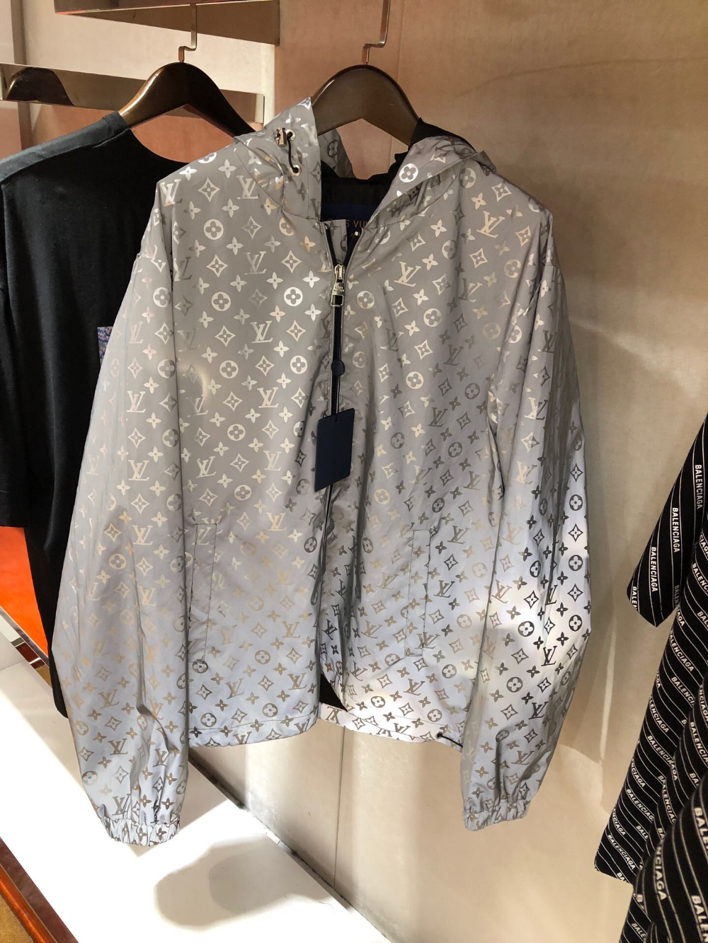 Louis Vuitton Reflective Jacket (With images) Unisex
