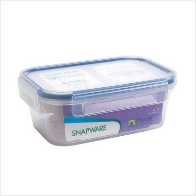 Snapware Airtight Small Rectangle Storage Container 2 Cup By World Kitchen Pa 19 95 Modular Stackable Desig Food Storage Containers Snapware Food Storage