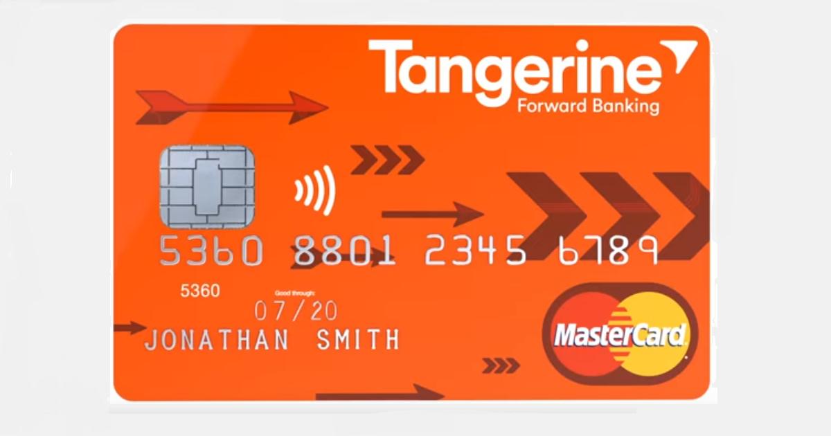 Tangerine Cash Back Credit Card Cash Rewards Credit Cards