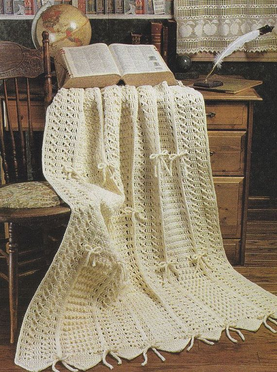 Snowflakes Christmas Afghan Crochet Patterns - Christmas Issue of ...