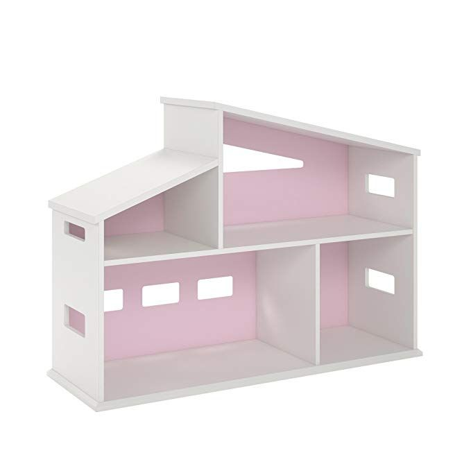 Best Novogratz Dz05819 Addison Dollhouse White Bookcase 400 x 300