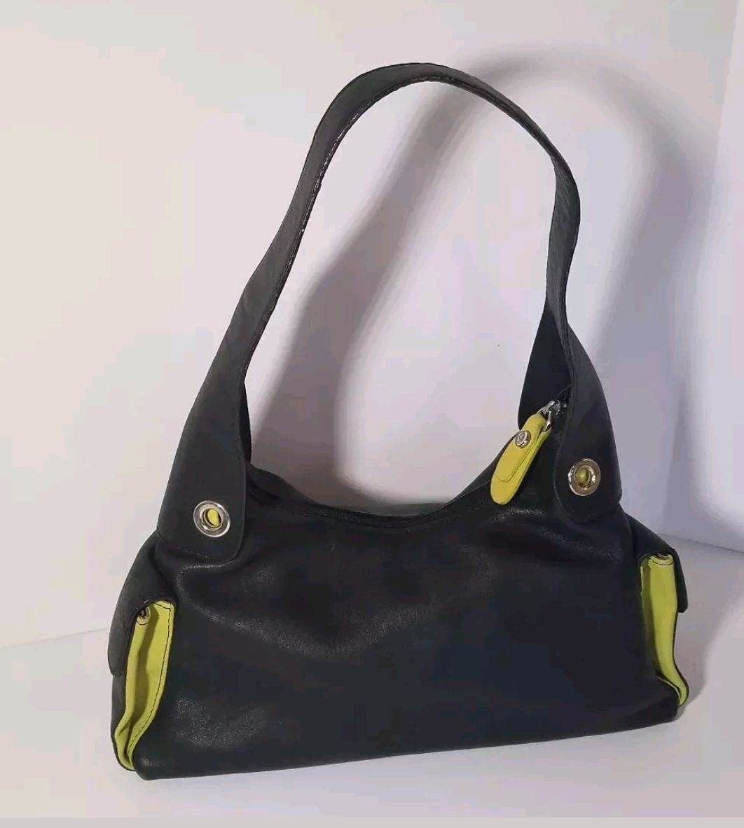 9e38b2de51 Carla Sade Small Hobo Leather Bag