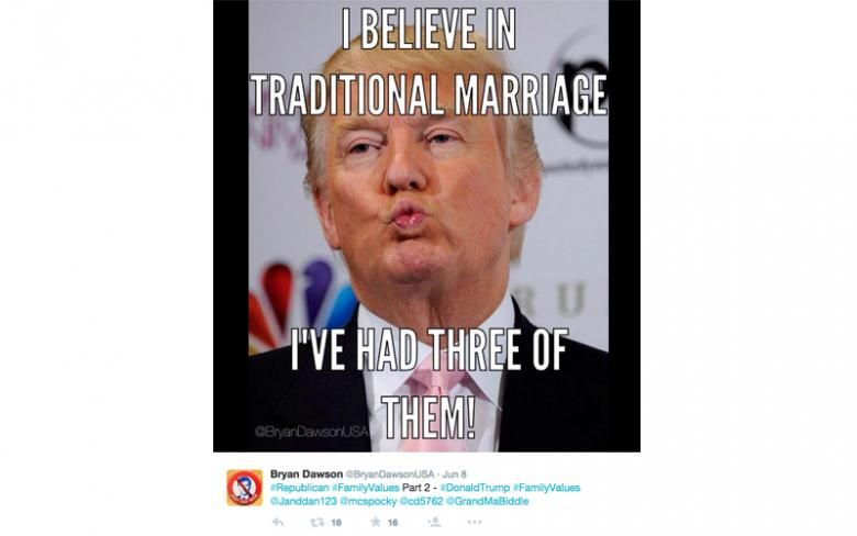 Funny Memes Marriage : Donald trump memes: best and funniest jokes attacking presidential