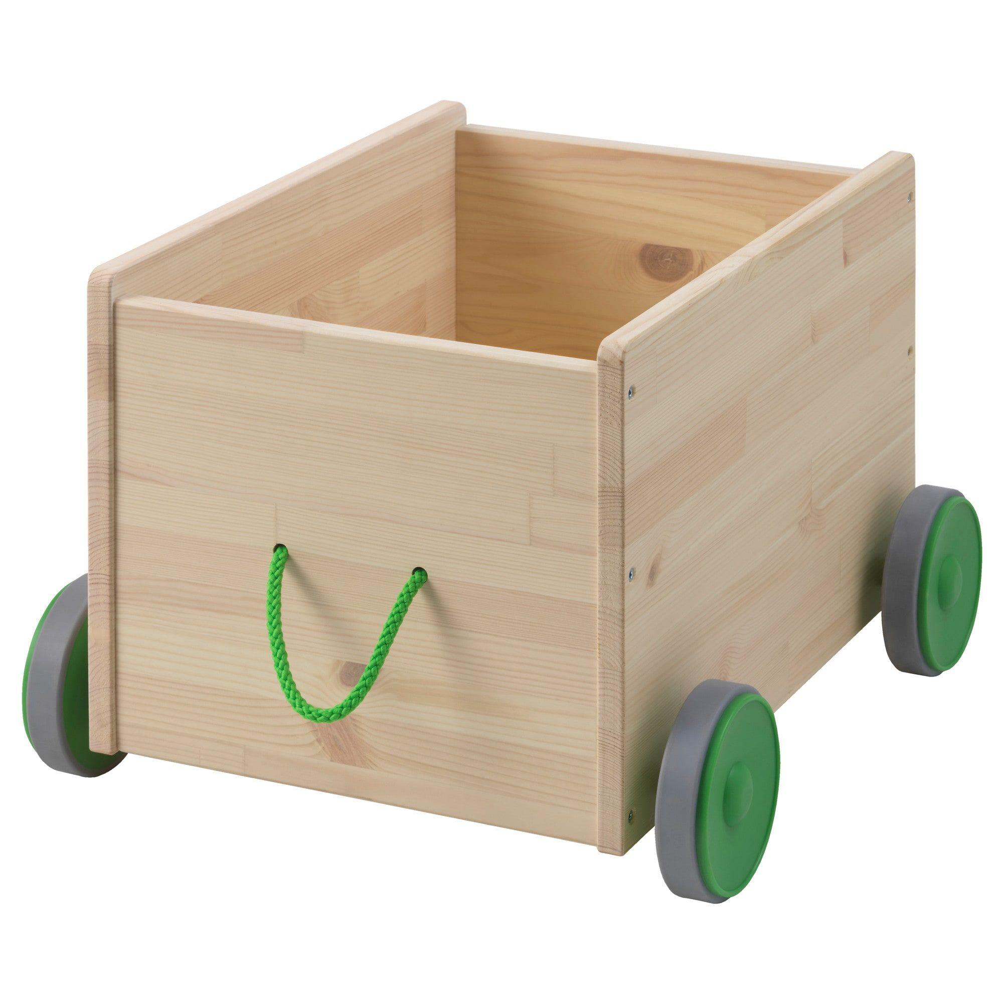 Flisat Toy Storage With Casters Organizador De Juguetes Almacenamiento De Juguetes Ikea Cajas De Juguetes