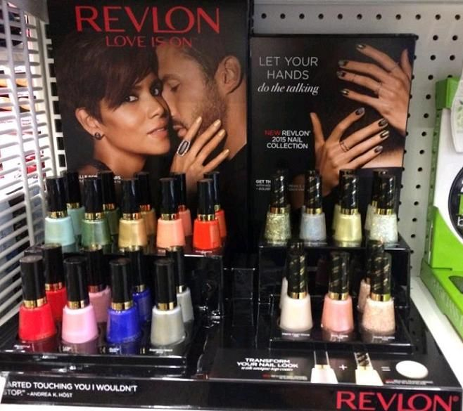 Nouveau Cheap: Spotted: NEW Revlon 2015 Nail Collection (New Core Shades & Transforming Effects Top Coats)