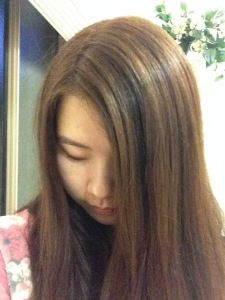 Diy Lighten Dark Hair Without Added Bleach At Home Youtube