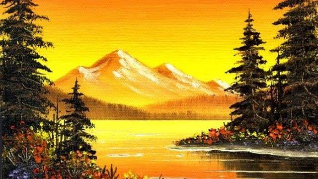 Facebook Twitter Google Pinterest Stumbleupon At Last Show Your Imagination To Large Extent When Yo Simple Oil Painting Scenery Paintings Landscape Paintings