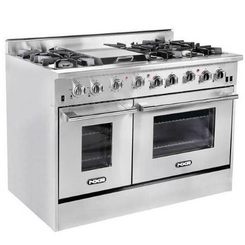 Dream stove with double oven and a griddle, meaning the 6 ...
