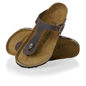 820c4cc9f26 Birkenstock Shoes - Birkenstock Gizeh Fl Sandals - Habana ...