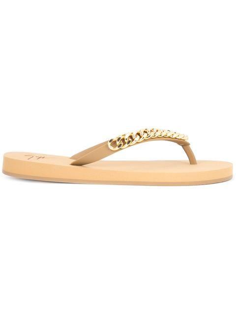 GIUSEPPE ZANOTTI Holiday Flip Flops. #giuseppezanotti #shoes #sandals