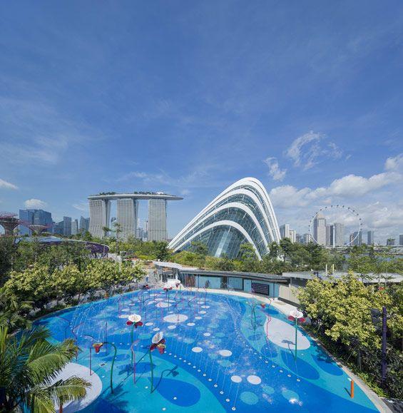 Grant Associates Designs Creative Playground For Gardens By The Bay Gardens By The Bay Singapore Garden Children S Garden