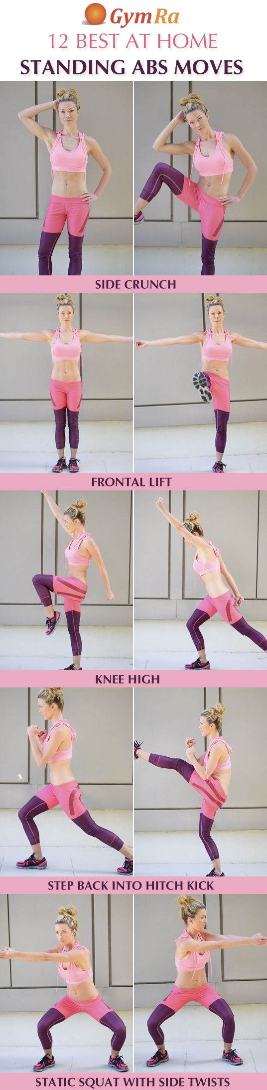 12 Best At Home Standing Abs Exercises  Click the above image to see all the. 12 Best At Home Standing Abs Exercises  Click the above image to