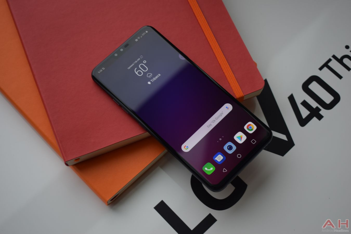 LG V40 ThinQ With Five Cameras Announced | Android | Camera