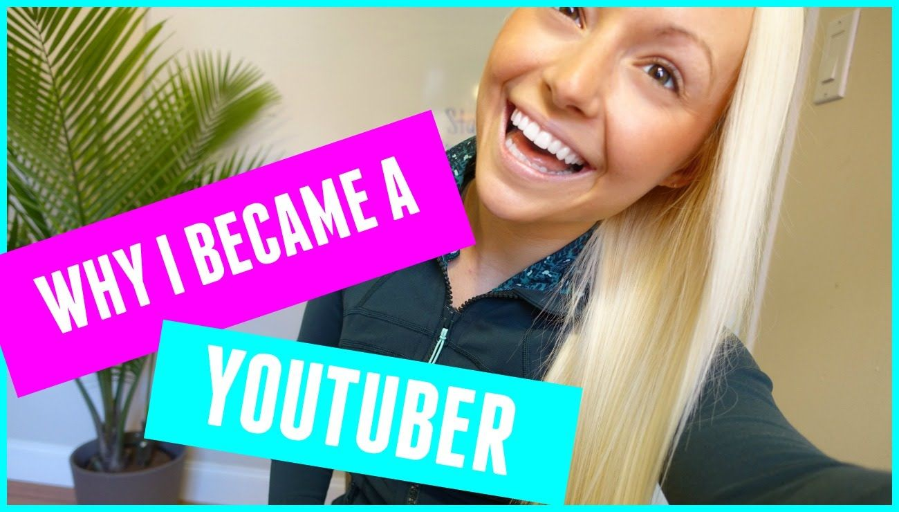 why i became a youtuber) Youtube, How to Pretty
