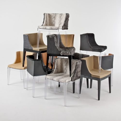 A New Mademoiselle Chair -- a collaboration between Lenny Kravitz and Kartell.