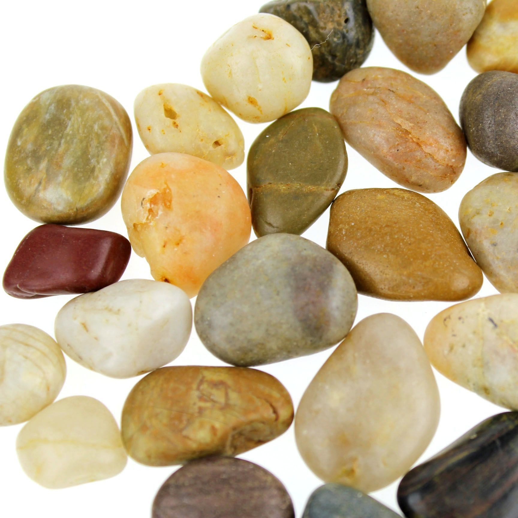 River Stones Rocks Assorted 1 2 Inch To 1 Inch Pebble Garden River Stones Small Fountains