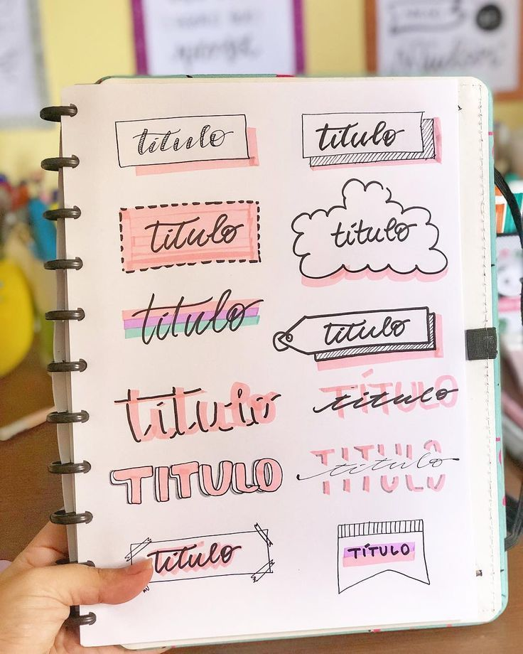 "@estudodalei on Instagram: ""Pra vocês que amam títulos!  .  #aestudodalei #instagram #titulos #diys #crafts #ideas Journal Ideas"