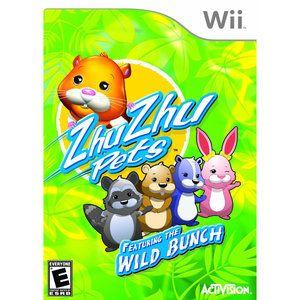 Video Games The Wild Bunch Ds Games Zhu Zhu