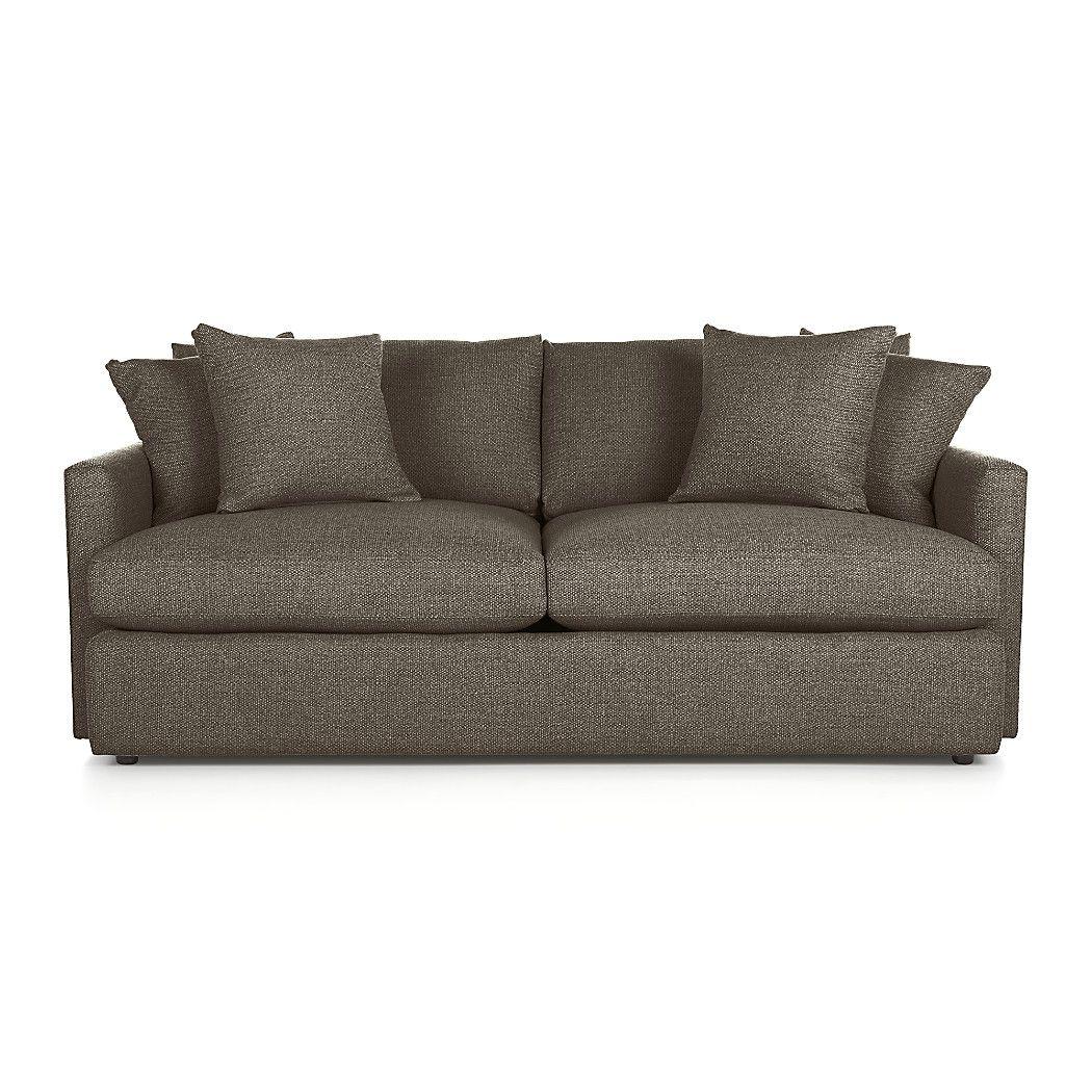 Lounge Ii Deep Sofa Reviews Crate And Barrel Deep