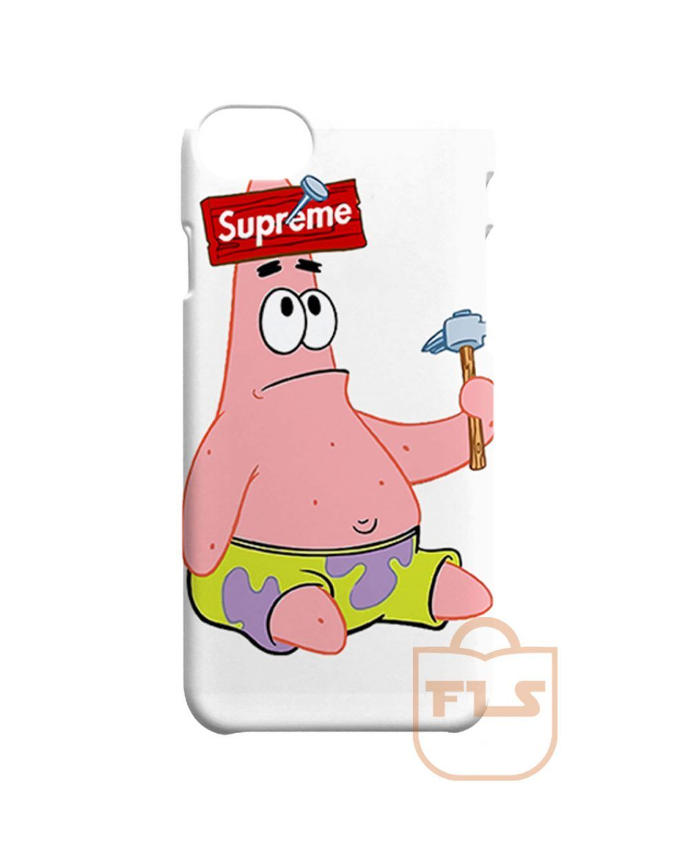 best sneakers 15f64 ec456 Patrick the Star Supreme iPhone X Case, iPhone XR, iPhone XS Max ...