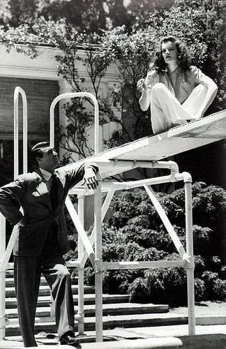 Cary Grant & Katharine Hepburn
