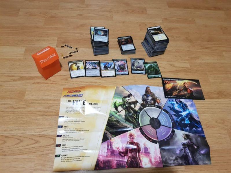 Karti Za Igra Magic The Gathering Originalna Kutiya I Deck Box Gr