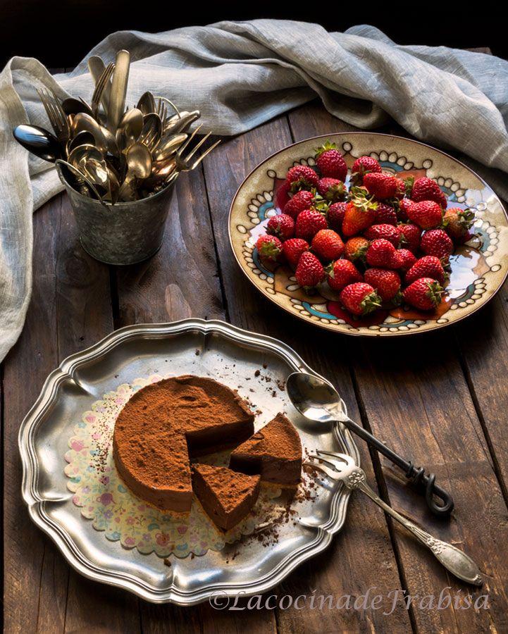 La cocina de frabisa tarta de puro chocolate sin horno - Reposteria facil y rapida ...