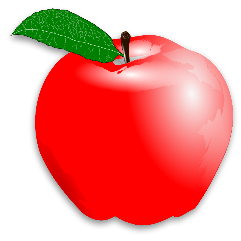 red apple clipart (With images) Apple picture, Apple clip art, Clip art