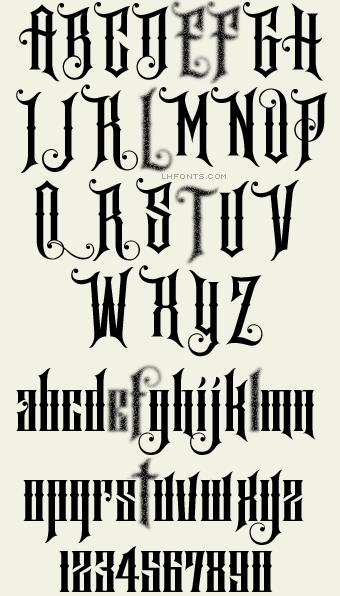 Letterhead Fonts  Safire  Decorative Fonts  Zombie