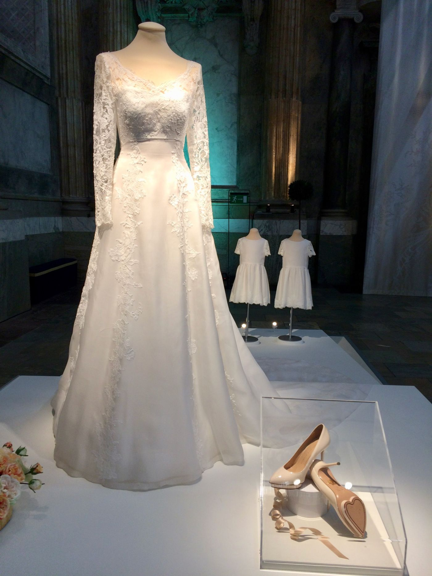 Swedish Royal Wedding Dress Exhibition Janet Carr Royal Wedding Dress Famous Wedding Dresses Wedding Dresses [ 1867 x 1400 Pixel ]