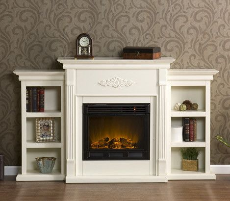 Top 10 Fireplaces Essentials Wayfair Fireplace Bookcase