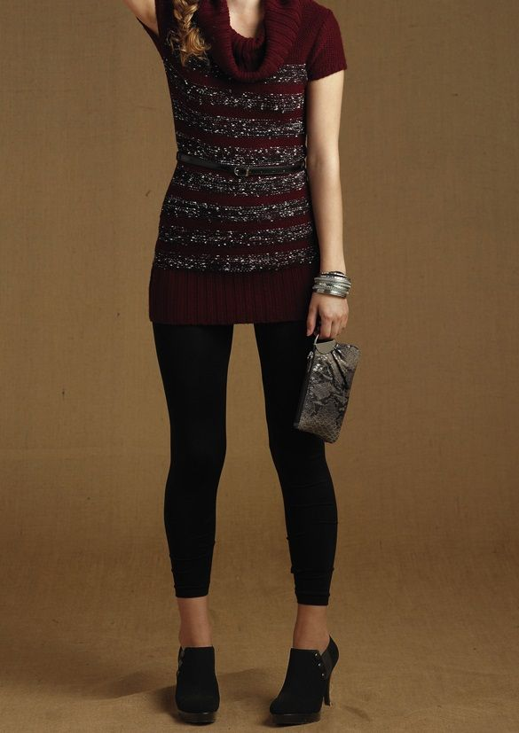 Heart  N Crush Juniors  Sweater Dress with Juniors  Leggings (in-stores  only) b69e84c05