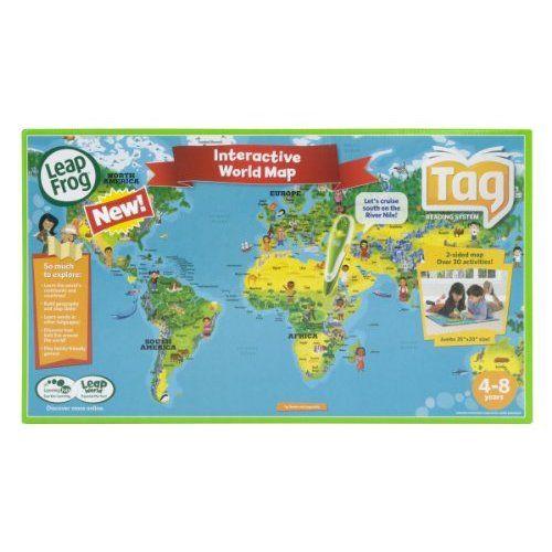 Amazon leapfrog tag maps world toys games language english amazon leapfrog tag maps world toys games language english and french gumiabroncs Choice Image