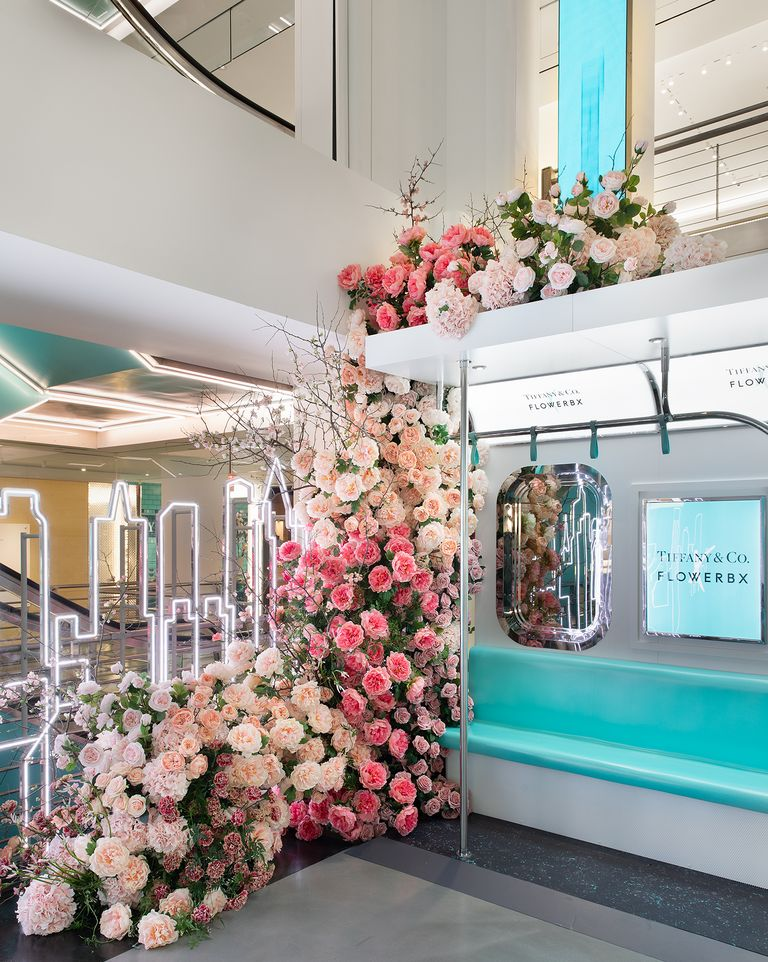 A Blossoming Dose of Whimsy Takes Over Tiffany's Flagship