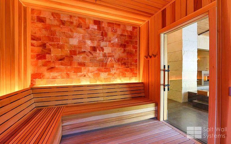 Himalayan Salt Wall Systems Health Wellness Sauna Luxury Travel Sauna Design Sauna Salt Room